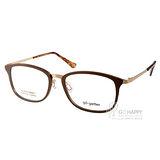 Go-Getter眼鏡 簡約休閒款(古銅-金) #GO2022 C03