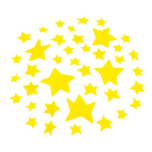 德國Hape愛傑卡-小王子牆面夜光貼紙-星星