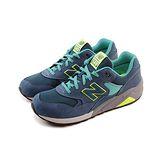 (男)NEW BALANCE 復古鞋 藍綠/湖水綠-MRT580GT