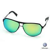 【Volkswagen】福斯太陽眼鏡 飛官款-水銀藍vwp-051-01