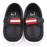 童鞋城堡-二等兵 小童 手工縫製經典休閒鞋5508-黑