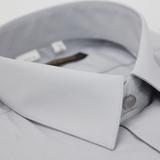 【金安德森】淺灰色基本款長袖襯衫(品特)