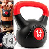 KettleBell重力14公斤壺鈴(30.8磅)C109-2114拉環啞鈴搖擺鈴.舉重量訓練.運動健身器材