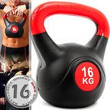 KettleBell重力16公斤壺鈴(35.2磅)C109-2116拉環啞鈴搖擺鈴.舉重量訓練