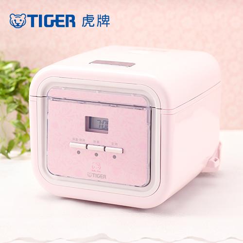 【TIGER虎牌】Hello Kitty款 3人份微電腦炊飯電子鍋(JAJ-K55R-PX)買就送專用料理食譜