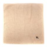 BURBERRY高爾夫球素面小方巾-駝色
