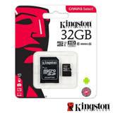 Kingston 金士頓 32GB 80MB/s microSDHC UHS-I C10 記憶卡