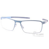 Ic! Berlin眼鏡 德國薄鋼工藝(藍) #JAUN ELECTRIC LIGHT BLUE