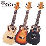 ★集樂城樂器★一次兩把僅此一檔~Kaka KUC-008 23吋小圓背特殊共鳴烏克麗麗(隨機出貨)