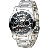 SEIKO PREMIER 人動電能月時尚腕錶 5D88-0AG0D SRX013J1