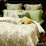 Tonia Nicole東妮寢飾潘娜洛普100%天絲印花被套床包組(雙人)