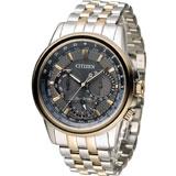 星辰 CITIZEN Eco-Drive 飛行城市時尚腕錶 BU2026-65H