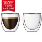 丹麥Bodum PAVINA雙層玻璃杯80CC(一盒二入)