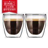 丹麥Bodum PILATUS雙層玻璃杯80CC(一盒二入)