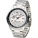 ORIENT 東方錶 MULTI-YEAR CALENDAR系列簡易萬年曆機械錶 FEU07005W
