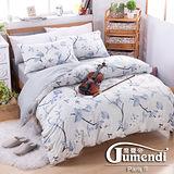 【法國Jumendi-漫舞莊園】台灣製雙人四件式特級純棉床包被套組