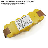 Kamera for iRobot Roomba 500,510,511,530,531,532,533,535,536,537,550,551,560,561,562,充電電池 3000mAh