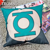 TROMSO-品味英倫棉麻抱枕/綠光戰警
