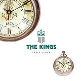 THE KINGS - Victoria London維多利亞車站復古工業球鐘