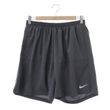 NIKE (男)慢跑短褲-灰-642808060