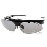 OUTDO太陽眼鏡 掀蓋式鏡片 偏光運動款(黑) #TR309 P5
