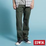 EDWIN KHAKI休閒長褲-男-橄欖綠