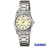 CASIO卡西歐 典藏優雅女性石英腕錶 LTP-V001SG-9B