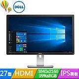 DELL P2715Q 27型 Ultra HD 4K IPS液晶螢幕《原廠三年保固》