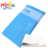 《夢貝比》銀離子抗菌嬰兒乳膠床墊-藍【S號小床/遊戲床專用】