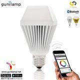 E&J gunilam 手機APP控制亮度色彩 7W LED燈泡 *1