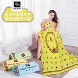 【FOCA】PB皮爾帕門甜蜜馬卡龍 黃 超柔細多用途天鵝絨毯(150x200cm)