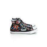 Converse 男/女鞋 帆布鞋(高統)-黑-150267C