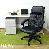 HAPPYHOME CD150HB-09灰色辦公桌櫃椅組Y700-9+Y702-19+FG5-HB-09