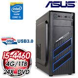 華碩H81平台【炫嵐之炎】Intel i5-4460四核 1TB效能電腦