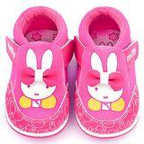 童鞋城堡-Miffy 小童 立體蝴蝶結休閒鞋MF-0011-桃