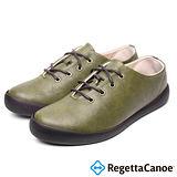 RegettaCanoe (女款)CJFC-7008優雅樂步休閒鞋-橄欖綠