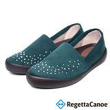 RegettaCanoe (女款)CJFC-7012優雅樂步休閒鞋-墨綠色