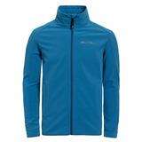 【hilltop山頂鳥】男款Soft-shell防風保暖外套H22MT3-藍