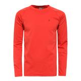 【hilltop山頂鳥】男款Zisofit保暖排汗圓領上衣H51ME7-紅