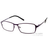 JULIO眼鏡 輕薄完美工藝(紫-黑) #STUTTGART PUR