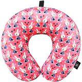 《DQ》緩衝顆粒護頸枕(粉紅兔)