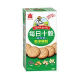 義美 每日十穀養生餅-糙米纖麩285g