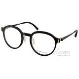 VYCOZ眼鏡 文青半圓框款(黑) #MOLY BLK-BLACK