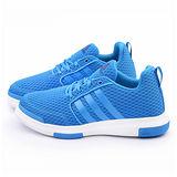 Adidas 男款Street Jam Culture休閒籃球鞋D69514-藍