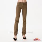 (女) BRAPPERS Boy Firend Jeans 系列-女用直統反折褲-淺綠