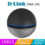 D-Link 友訊 DWA-192 Wireless AC1900 雙頻 USB無線網卡