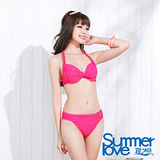 【SUMMERLOVE夏之戀】優雅名媛比基尼兩件式泳衣(E15701)