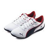 (大童)PUMA DRIFT CAT 6 L BMW JR 休閒鞋 白/黑/紅-30517503