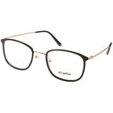 Go-Getter眼鏡 簡約百搭款(黑-金) #GO3003 C01