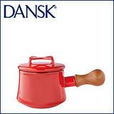 【DANSK】 Kobenstyle 木柄片手鍋 1QT(紅)